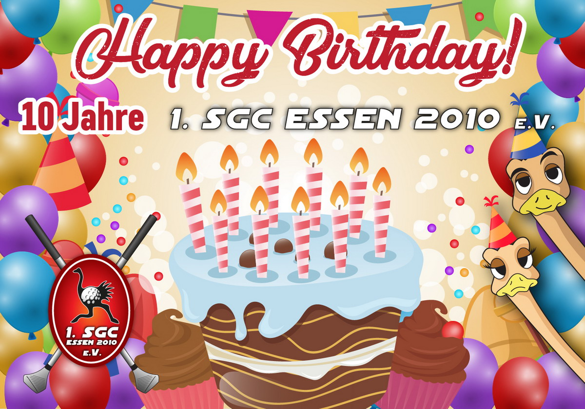 Happy Birthday 10Jahre SGC
